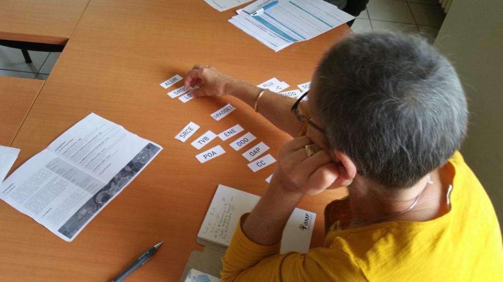 Atelier pour découvrir les différents documents d'urbanisme